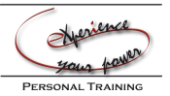 eXperience your power -Personal Training Logo